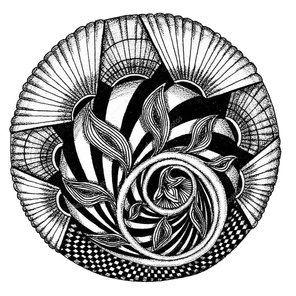 Mandala-Zendala-Zentangle